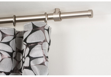 Bastoni Tende A Soffitto : Gardinenstange Ø mm gebürsteter edelstahl die halterungen kônnen