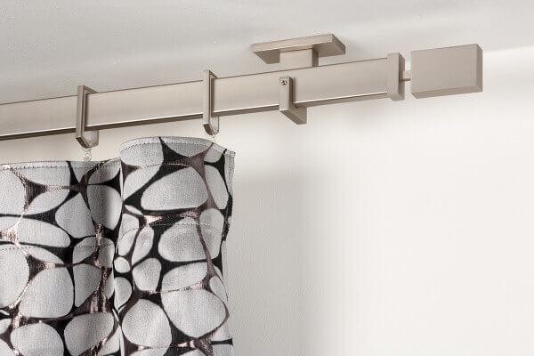 Bastoni Tende A Soffitto : Gardinenstange mm rechtwinklig gebürsteter edelstahl die