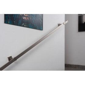 Corrimano in Acciaio Satinato Rettangolare 31x12mm